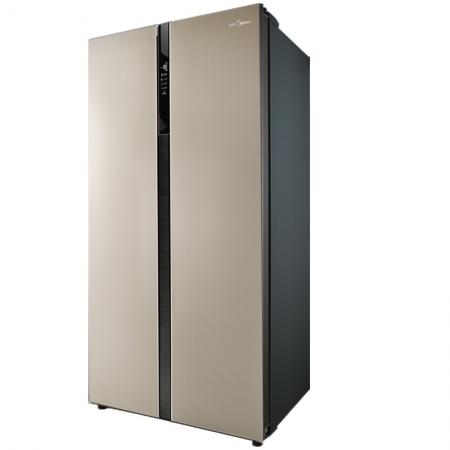 美的(Midea)BCD-516WKZM(E) 516升 纤薄机身 风冷无霜 浮光跃金(京东微联智能APP手机控制)