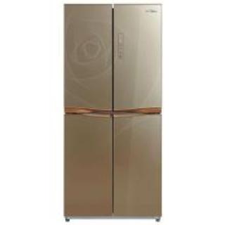 美的(Midea)BCD-482WTM 482升 风冷无霜 十字对开门冰箱 电脑控温 大容量 节能静音 炫彩钢