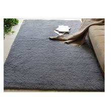 富居(FOOJO)加柔长绒 可水洗客厅地毯70*160cm灰色
