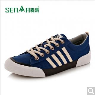 森马 帆布鞋男鞋秋季新款学生休闲鞋 平底鞋潮流百搭低帮板鞋韩版运动鞋