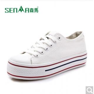 森马秋季新款帆布鞋时尚女鞋帆布鞋韩版情侣女鞋