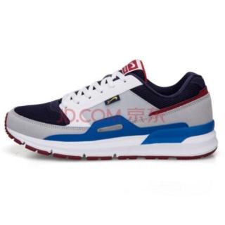 贵人鸟男鞋休闲鞋 运动鞋防滑耐磨撞色都市韩版男跑步鞋复古休闲鞋