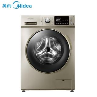 美的(Midea)MD80-1405DQCG 8公斤洗烘一体变频滚筒洗衣机 快净系列