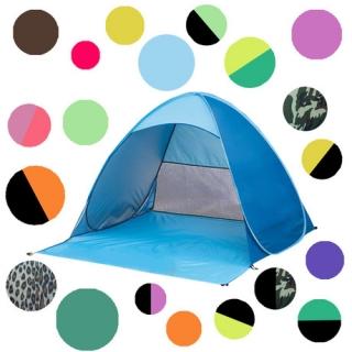 全自动免搭建露营沙滩遮阳帐篷速开户外防紫外线厂家贴牌生产批发