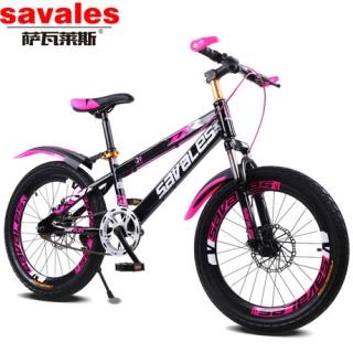工厂直销 儿童的自行车 18寸山地车 碟刹减震单速儿童单车